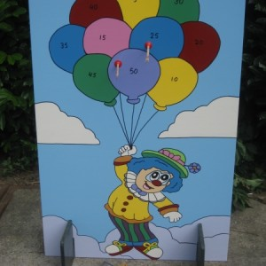 Clown Armbrust schiessen